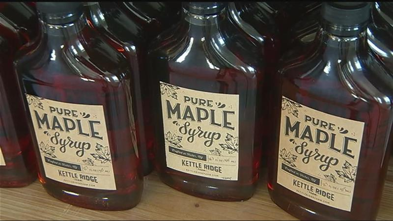 Finger Lakes farmers mark beginning of maple harvest