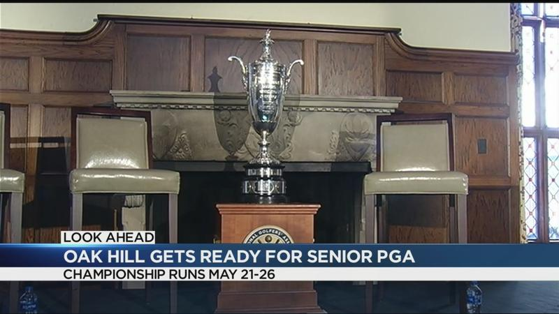Oak Hill prepares for 2019 Senior PGA Championship