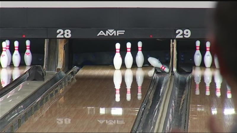 Pins go down for good cause at Strikes for Abilities