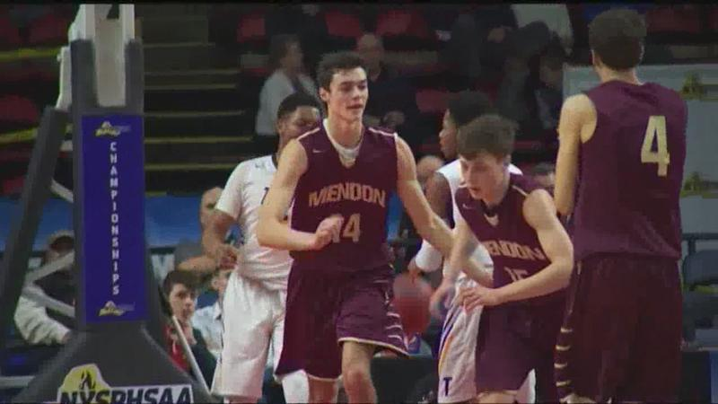 Pittsford-Mendon boys basketball advances to State Championship; Midlakes also advances