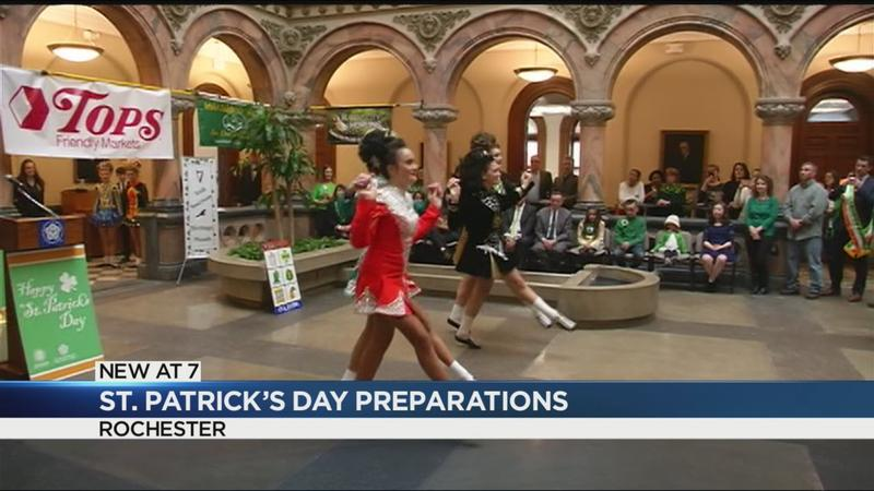 Rochester gears up for St. Patrick's Day celebrations