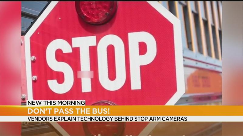 School bus stop-arm cameras won't cost districts, tax payers