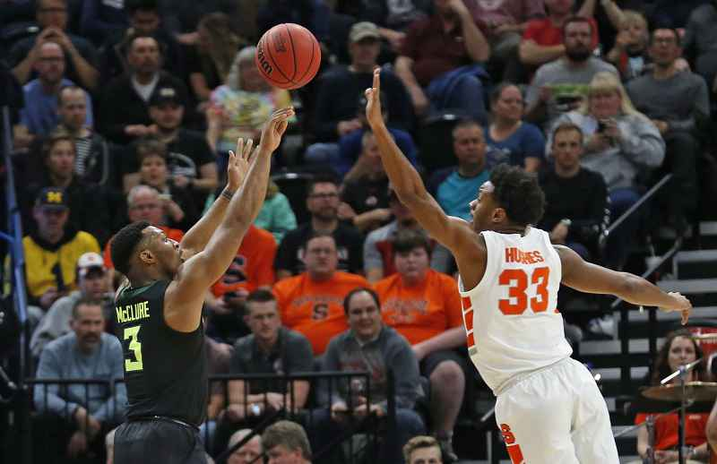 Baylor Shoots Past Syracuse 78-69 In NCAA's West Region