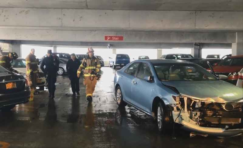 Henrietta woman charged after damaging multiple cars, garage ramp at ROC Airport