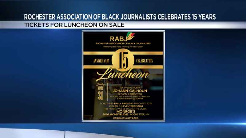 Rochester Association of Black Journalists to celebrate 15 years of service
