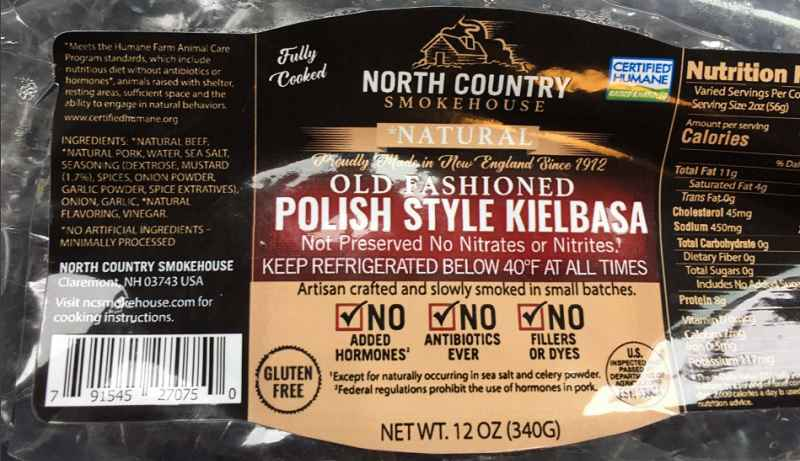 2,600 pounds of sausage products recalled; may contain metal