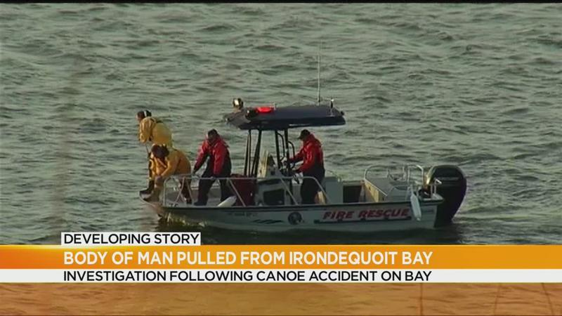 Body of Henrietta man pulled from Irondequoit Bay