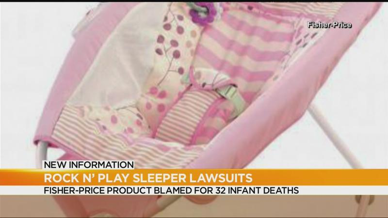 Fisher-Price sued over 'deadly' sleepers