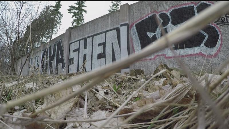 Good Question: What's being done about graffiti on I-590?
