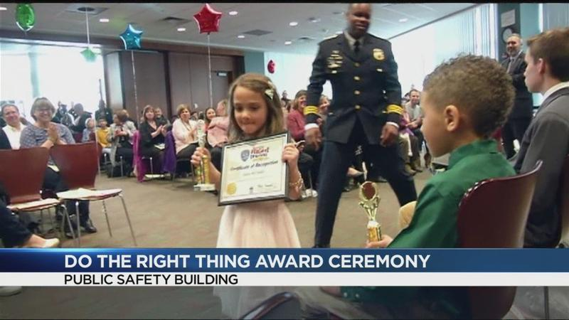 RPD honors Do the Right Thing Award recipients