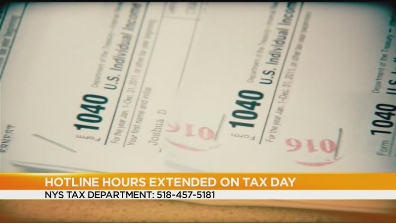State extends hotline hours on Tax Day to help last-minute filers