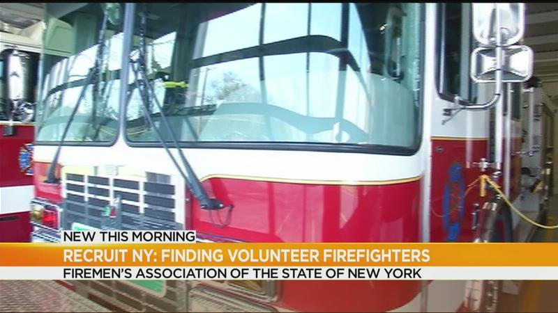 Volunteer fire departments band together to recruit new members