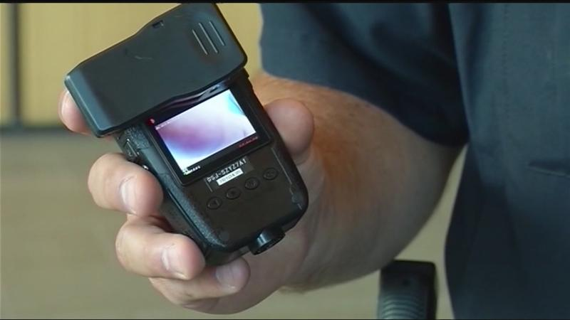 Wayne County sergeants showed body cam video at party
