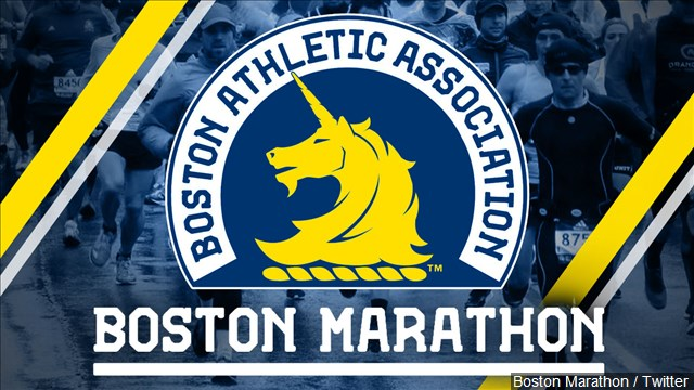 Runners gear up for another wet Boston Marathon