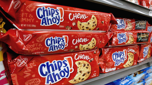 Recall alert: Chewy Chips Ahoy cookies recalled