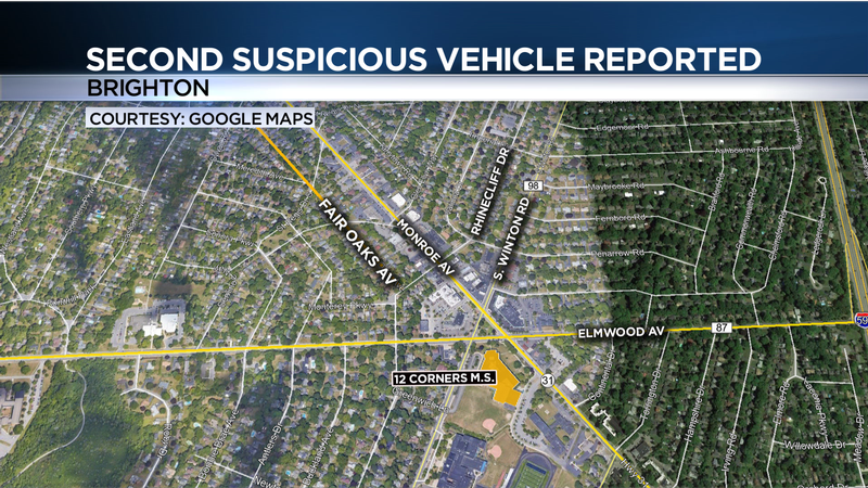 Police: Second suspicious vehicle reported near Twelve Corners Middle School
