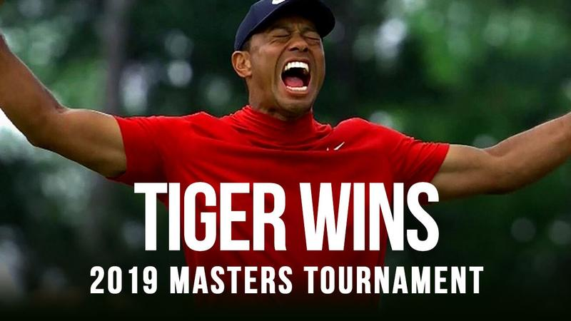 Tiger Woods wins 5th Masters in an epic comeback
