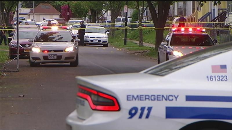 Bystander shot on Weyl Street