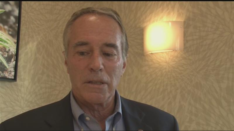 Congressman Collins speaks after Republican challenger enters race
