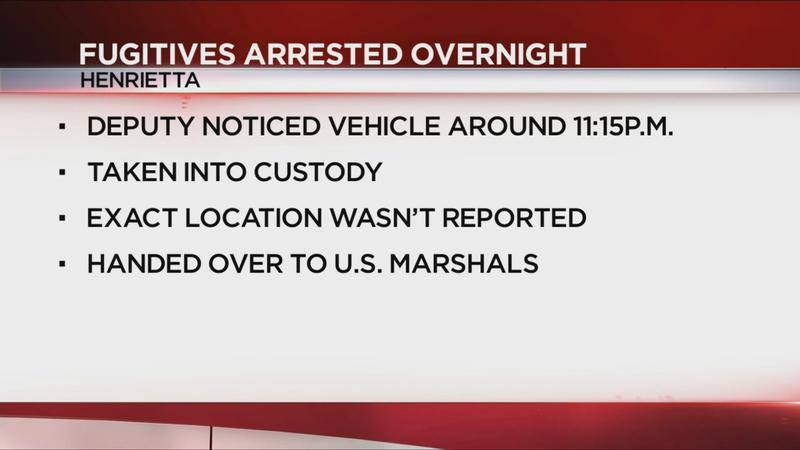 Deputies capture fugitives in Henrietta