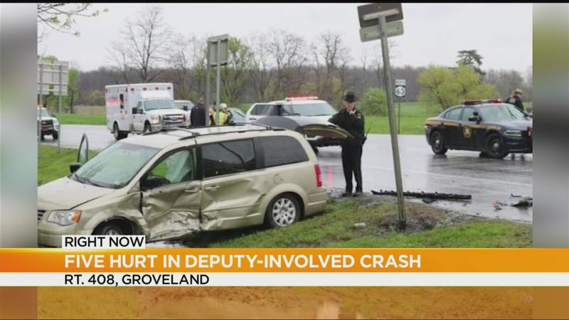 Ticket issued in crash involving Livingston County sheriff's deputy