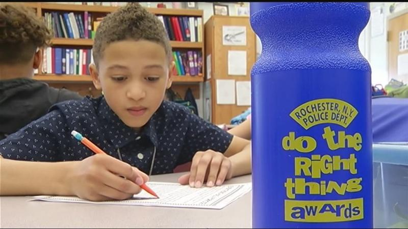 Do the Right Thing award winner: 5th grader exemplifies 'see something, say something'