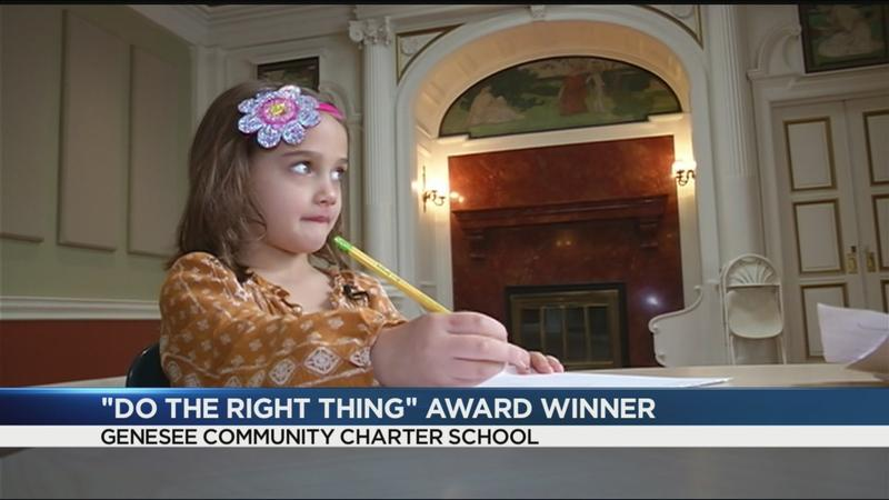 Do the Right Thing award winner: Kindergartner's brave, persistent act saves family