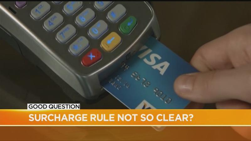 Good Question follow-up: Confusion over new credit card surcharges