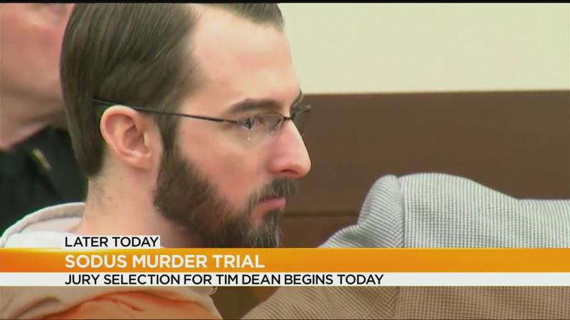6 jurors seated in Sodus double murder case; jury selection to resume Thursday