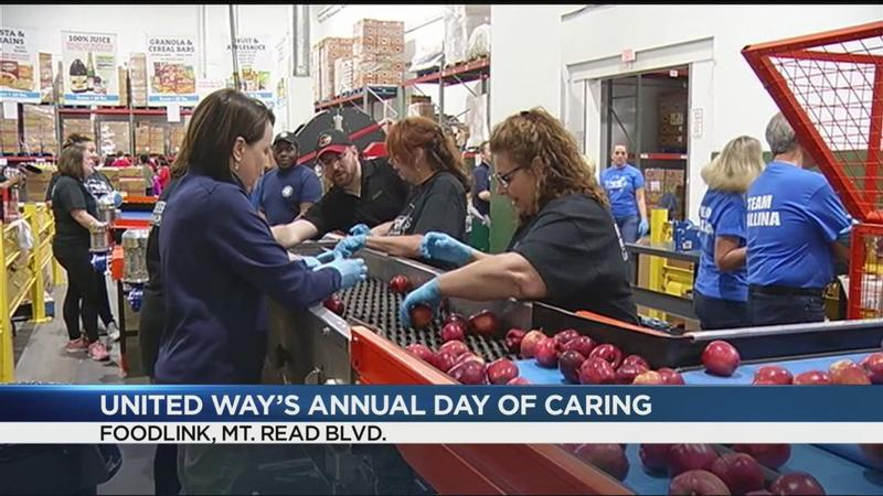 More than 5K volunteers take part in United Way's Annual Day of Caring