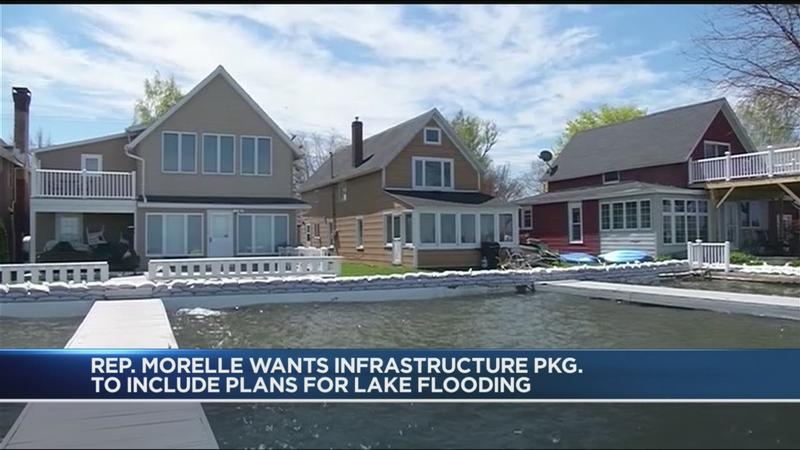 Morelle wants infrastructure deal to include plans to protect lakeside communities