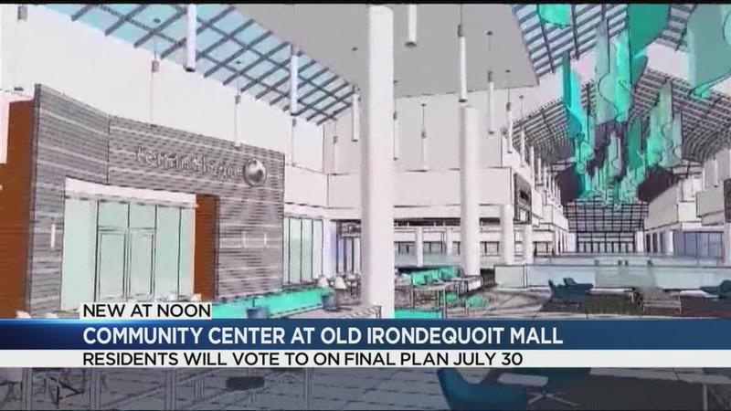 Neighbors to vote on plan for community center in former Irondequoit Mall