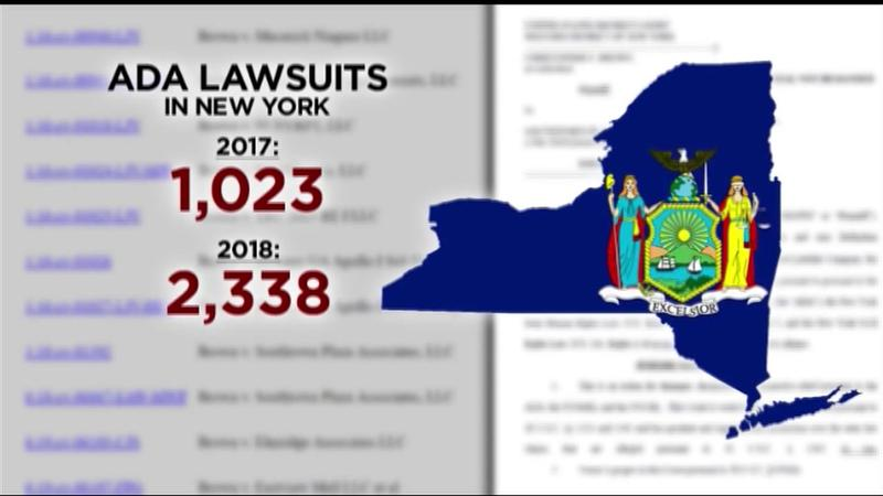 News10NBC investigates: ADA lawsuits top 2,338 in New York; target malls, colleges, wineries and art galleries