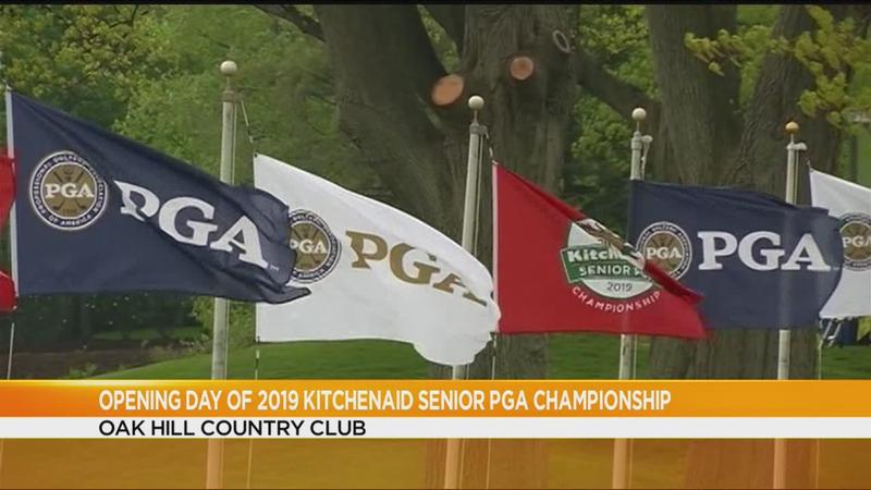 Oak Hill opens for Senior PGA Championship