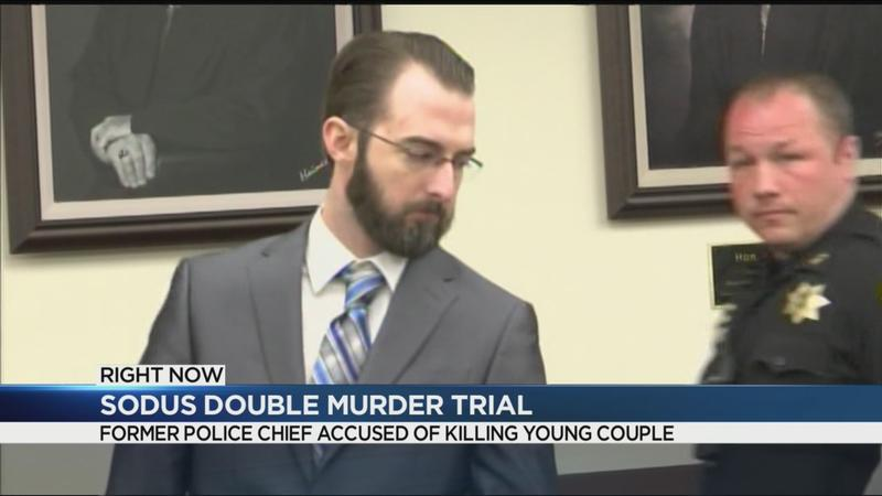 Emotional testimony, graphic photos: Trial underway in Sodus double murder case
