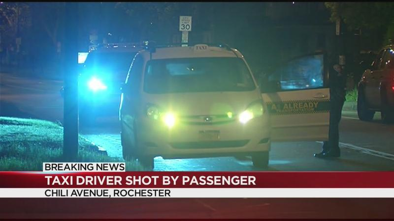 Police: Passenger shoots Rochester cab driver