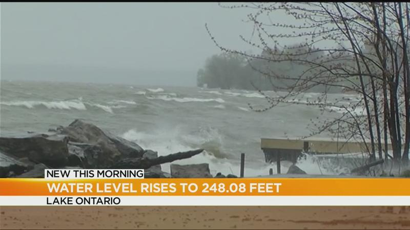 Rising water levels continue to threaten shoreline communities