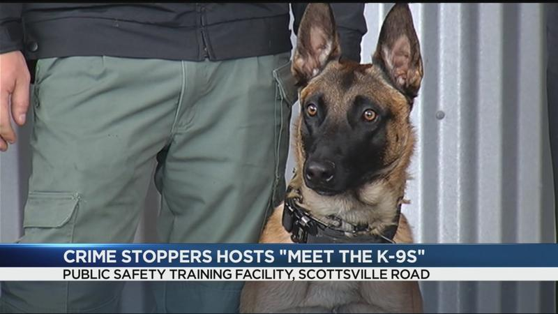 Rochester Area Crime Stoppers host 'Meet the K-9s'