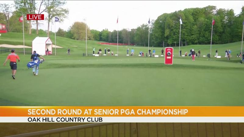 Senior PGA Championship: Golfers fight to make the cut in 2nd round