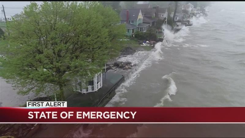 State of emergency declaration expanded for Monroe County shoreline