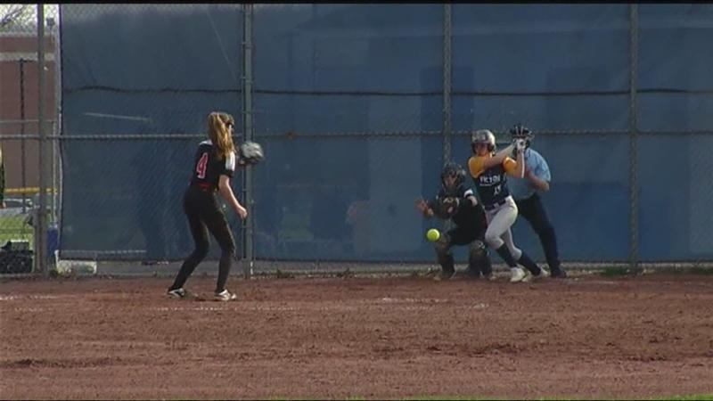 Victor vs. Penfield softball highlights