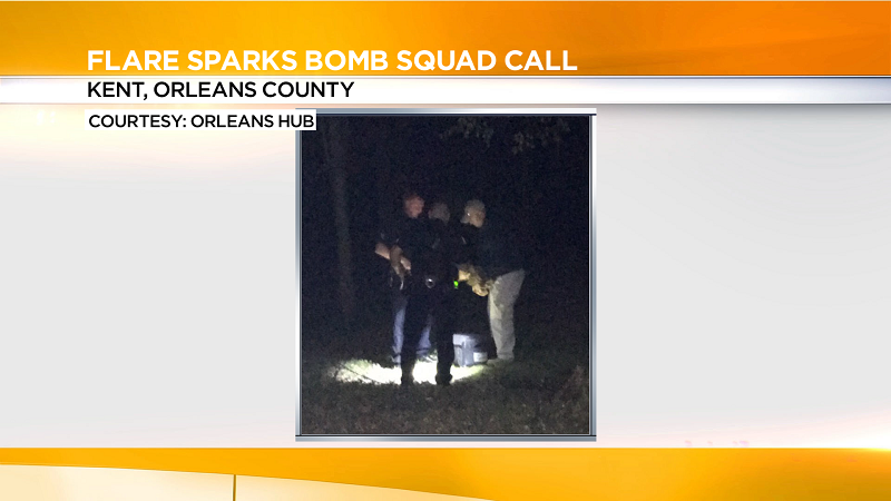 Aluminum canister sparks bomb squad call
