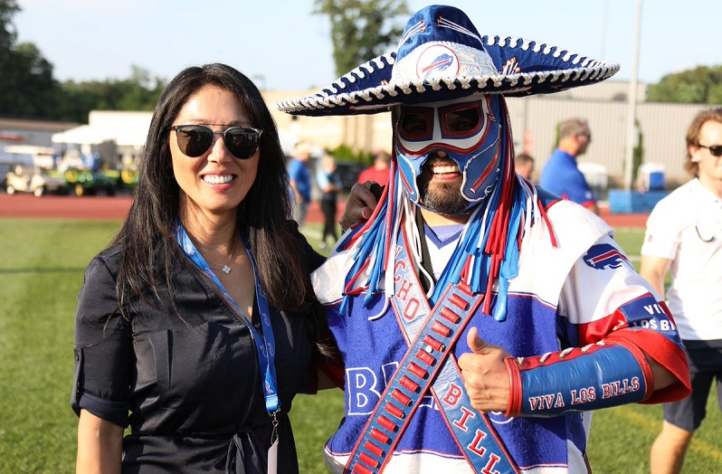 Kim Pegula and Pancho Billa