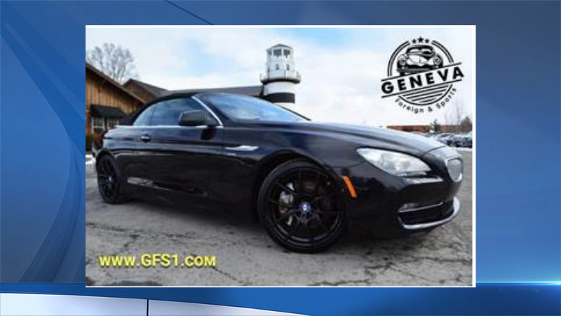 Deputies search for BMW stolen from Geneva dealership