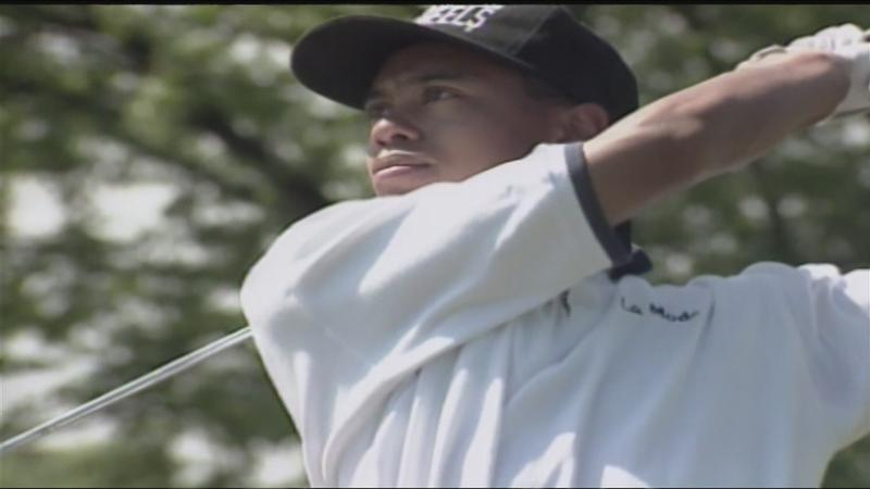 A look back:17-year-old Tiger Woods at Monroe Invitational
