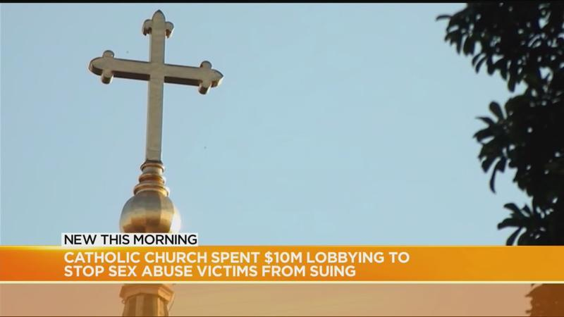 Study: Catholic Church spent $10M lobbying to stop sex abuse victims from suing