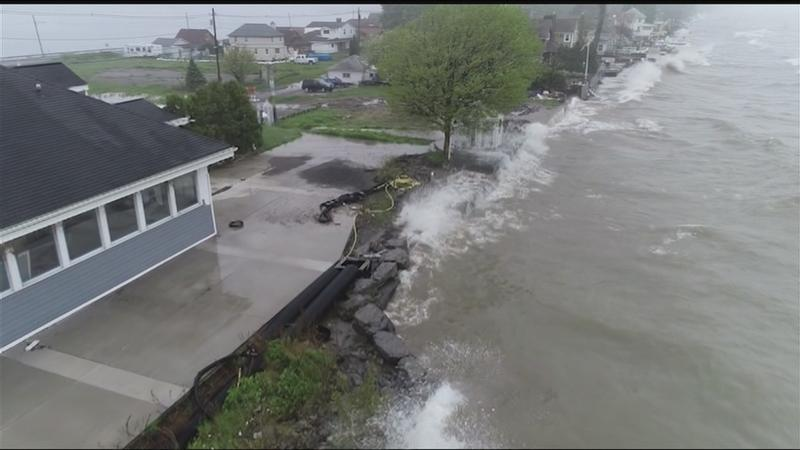 Cuomo commits up to $300M in state funding to help communities affected by Lake Ontario flooding