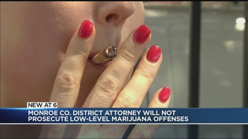 DA Sandra Doorley will not prosecute low-level marijuana offenses