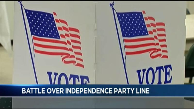 Dinolfo, Bello battle over Independence Party line