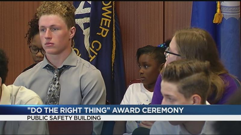 Do the Right Thing Award recipients honored by RPD